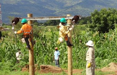 Training in Tanzania